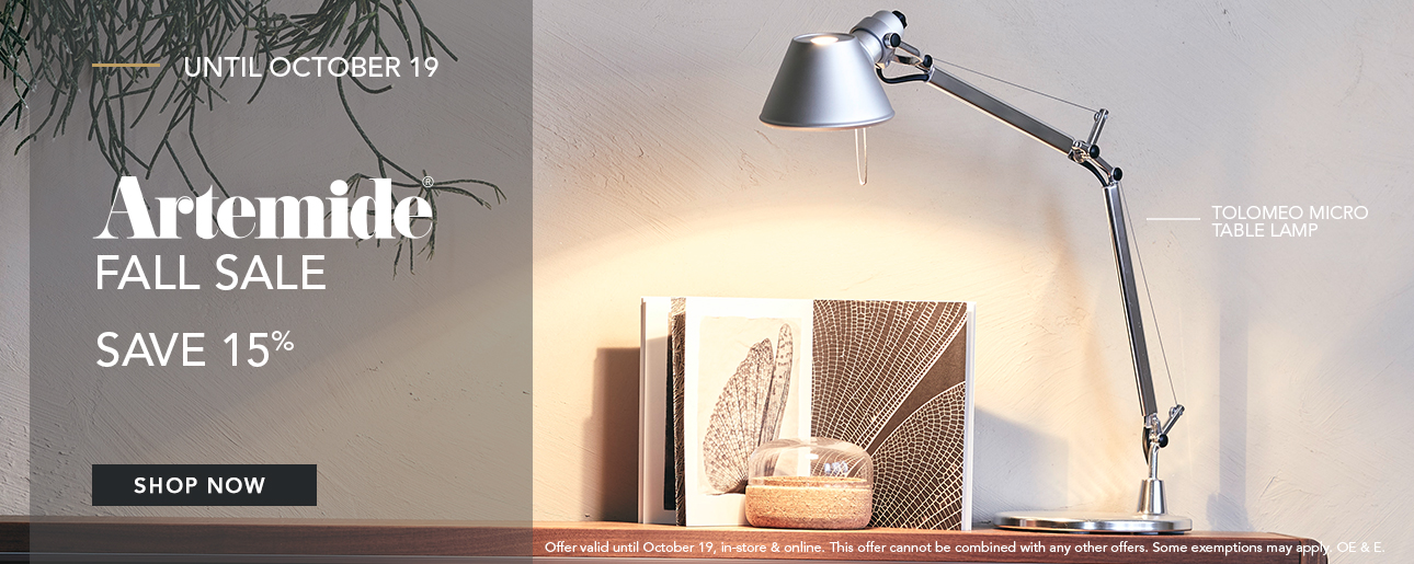 Shop ROBINSON's Fall Designer Lighting Sale | Artemide