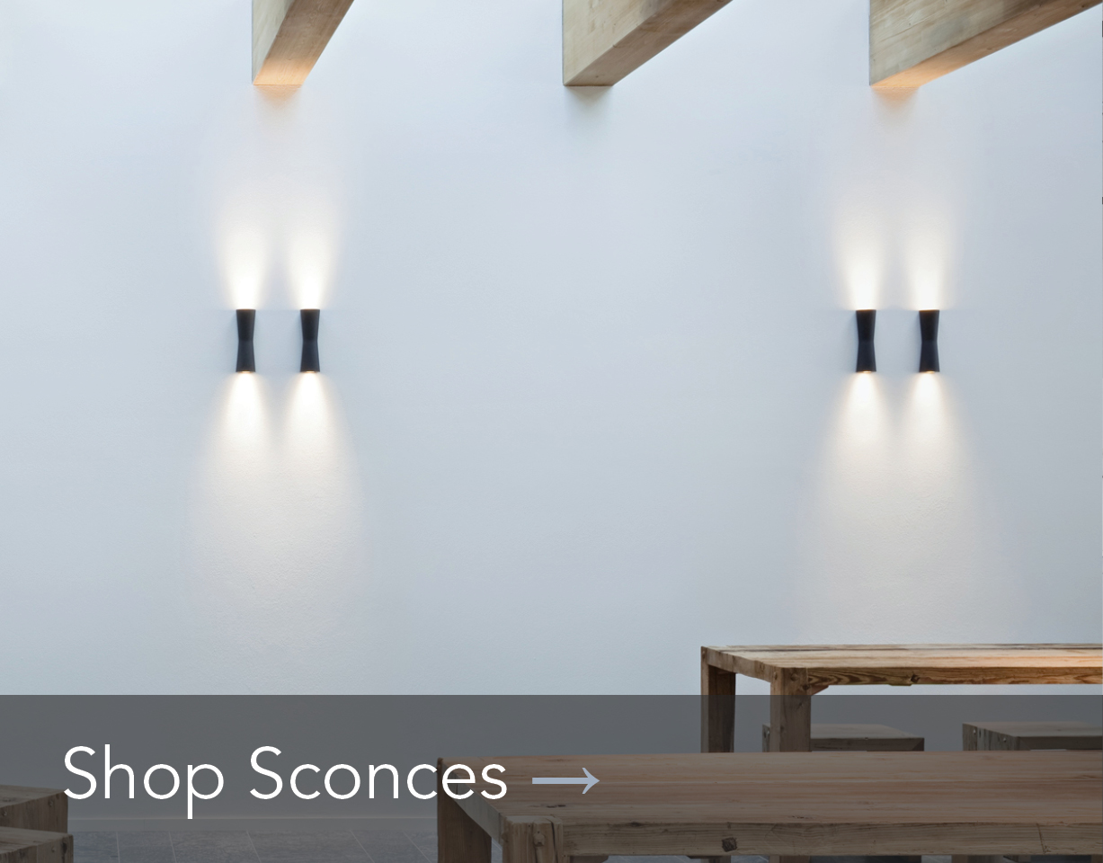 Shop modern black sconces