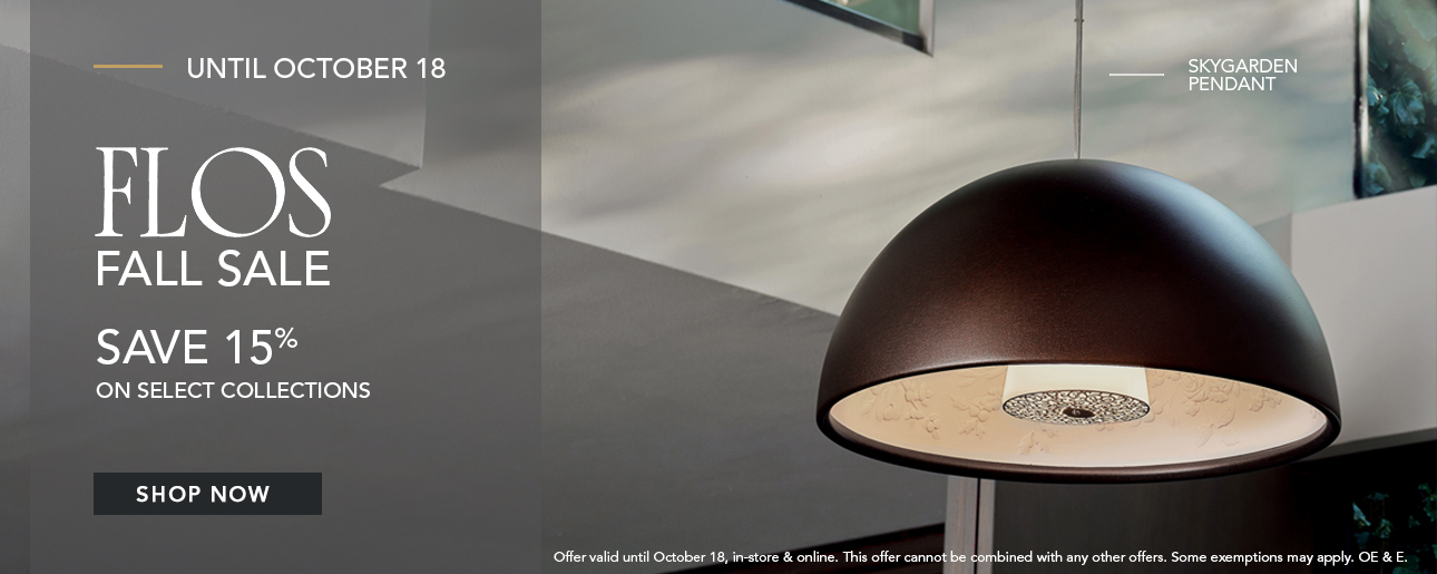 Shop ROBINSON's Fall Designer Lighting Sale | Flos