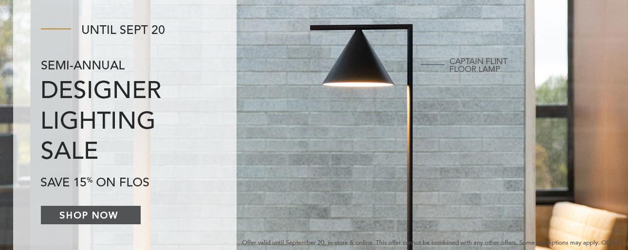 Shop ROBINSON's Designer Lighting Sale | Flos