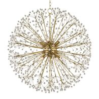DUNKIRK 10-LIGHT CHANDELIER, 6030, Aged Brass, medium