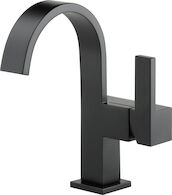 SIDERNA SINGLE HANDLE LAVATORY FAUCET, Matte Black, medium