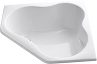 5454 54 X 54 INCHES DROP IN BATHTUB, White, medium