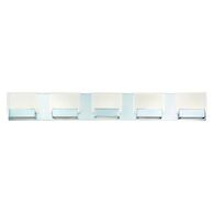 SONIC 5-LIGHT LED VANITY LIGHT, Chrome, medium