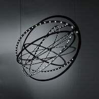 COPERNICO 3000K LED CHANDELIER, 16230, Black, medium