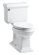 MEMOIRS® CLASSIC COMFORT HEIGHT® TWO-PIECE ELONGATED 1.28 GPF TOILET WITH AQUAPISTON® FLUSHING TECHNOLOGY, White, medium