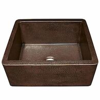 FARMHOUSE 25 KITCHEN SINK, Antique Copper, medium