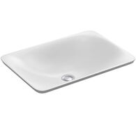 CARILLON® RECTANGLE WADING POOL® BATHROOM SINK, White, medium