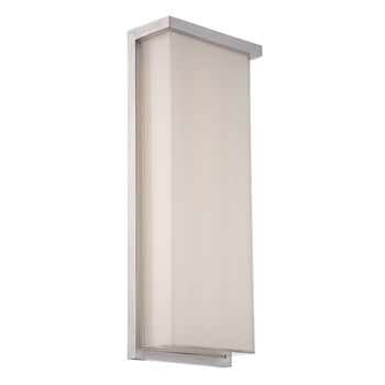LEDGE 20-INCH 3000K LED WALL SCONCE LIGHT, WS-W1420, Brushed Aluminum, large
