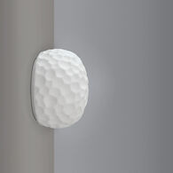METEORITE LED MINI WALL SCONCE LIGHT, 17070, White, medium