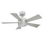 WYND 42-INCH 3000K LED CEILING FAN, Stainless Steel, small