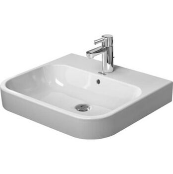 HAPPY D.2 23 5/8-INCH FURNITURE WASHBASIN, White, large