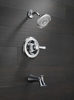 LAHARA MONITOR 14 SERIES TUB AND SHOWER TRIM, Chrome, medium