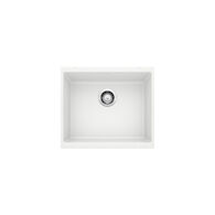 PRECIS UNDERMOUNT SINGLE BOWL SINK U 1, White, medium