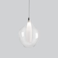 VICTORIA 3000K LED PENDANT LIGHT, PD3007, Chrome, medium