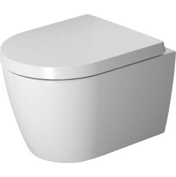 ME BY STARCK WALL MOUNTED TOILET COMPACT DURAVIT RIMLESS®, White, large
