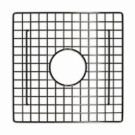 12-INCH SQUARE BOTTOM GRID, GR934, Mocha, medium