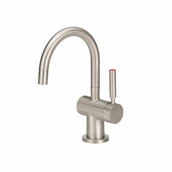 INDULGE MODERN HOT ONLY FAUCET, Satin Nickel, large