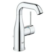 ESSENCE SINGLE-HANDLE BATHROOM SINK FAUCET, M-SIZE, StarLight Chrome, medium