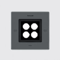 EGO 150 SQUARE FLOOD DOWNLIGHT CEILING RECESSED, Stainless Steel, medium