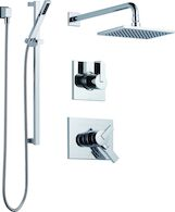 DELTA VERO 17 SERIES SHOWER KIT, Chrome, medium