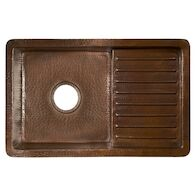 CANTINA PRO BAR & PREP SINK, Antique Copper, medium