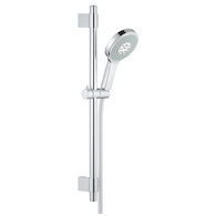 POWER & SOUL COSMOPOLITAN CONTEMPORARY 130 SHOWER SET, StarLight Chrome, medium