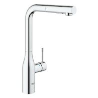 ESSENCE PULL OUT KITCHEN FAUCET, StarLight Chrome, medium