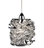 CANDY ETERNITY LED JEWELRY LED PENDANT, Chrome, medium