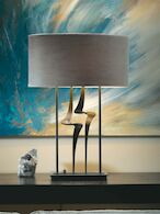 ANTASIA TABLE LAMP, Dark Smoke, medium