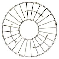 11-INCH ROUND BOTTOM GRID, GR951, Stainless Steel, medium