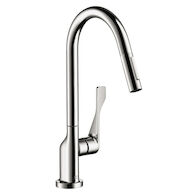 AXOR CITTERIO 2-SPRAY HIGHARC 1.75 GPM PULLDOWN KITCHEN FAUCET, Chrome, medium