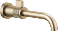 LITZE WALL MOUNT LAVATORY, Brilliance Luxe Gold, medium