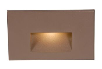 LEDme® HORIZONTAL STEP AND WALL LIGHT, Bronze, large