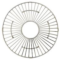 13.5-INCH ROUND BOTTOM GRID, GR914, Stainless Steel, medium
