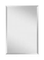 INFINITY RECTANGLE MIRROR 24x36-INCH, Silver, medium