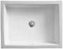 VERTICYL® RECTANGLE UNDERMOUNT BATHROOM SINK, White, small
