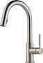 SOLNA SINGLE HANDLE PULL DOWN KITCHEN FAUCET, Stainless Steel, small