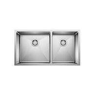 QUATRUS R15 UNDERMOUNT 1.75 SINK, Stainless Steel, medium