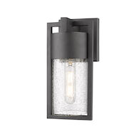 BOND 3000K LED OUTDOOR WALL LIGHT, Black, medium