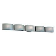 DAKOTA 5-LIGHT LED VANITY LIGHT, Chrome, medium