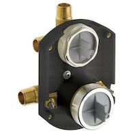 MULTICHOICE® UNIVERSAL INTEGRATED SHOWER DIVERTER ROUGH WITH STOPS, , medium