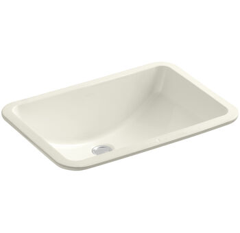 LADENA® 20-7/8 X 14-3/8 X 8-1/8 INCHES UNDERMOUNT BATHROOM SINK, Biscuit, large