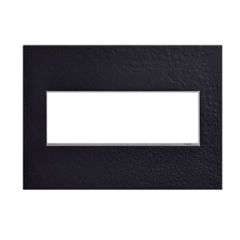 ADORNE 3-GANG HUBBARDTON FORGE® WALL PLATE, Black, large