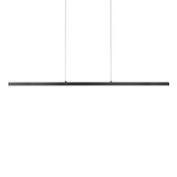 VEGA 56-INCH LED PENDANT, Black, medium