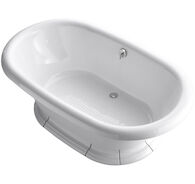 VINTAGE® 72 X 42 INCHES FREESTANDING BATHTUB, White, medium