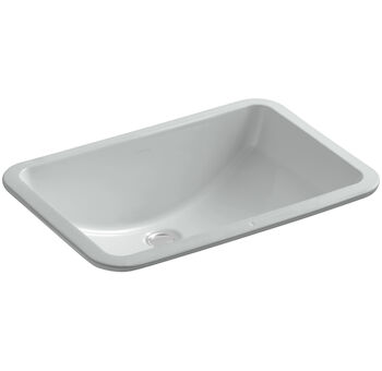 LADENA® 20-7/8 X 14-3/8 X 8-1/8 INCHES UNDERMOUNT BATHROOM SINK, Ice Grey, large