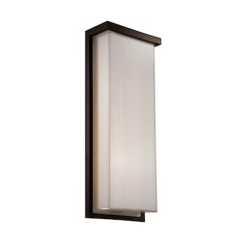 LEDGE 20-INCH 3000K LED WALL SCONCE LIGHT, WS-W1420, Bronze, large