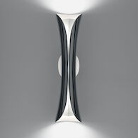 CADMO LED-T WALL SCONCE LIGHT, 13730, Black and White, medium