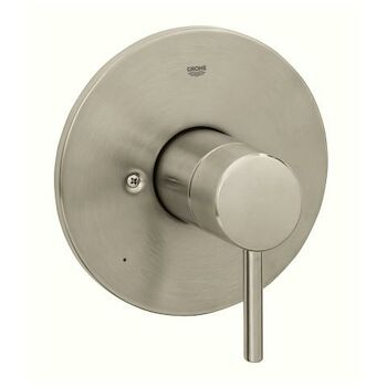 CONCETTO PRESSURE BALANCE VALVE TRIM, Brushed Nickel, large